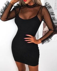 Sukienka Kendallme dopasowana z bawełny z okrągłym dekoltem