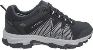 Czarne buty sportowe Sprandi Outdoor Performance sznurowane