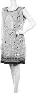 Sukienka Liz Jordan bez rękawów mini z okrągłym dekoltem