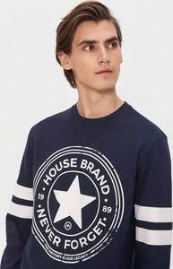 Granatowa bluza House