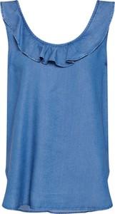 Niebieska bluzka Gap z jeansu