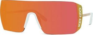 Pomarańczowe okulary damskie Kenzo