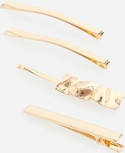 Reserved - Zestaw spinek w kolorze złota - Złoty