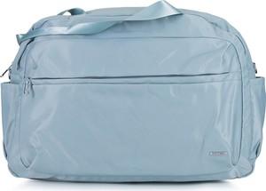 Niebieska torba podróżna Wittchen z tkaniny