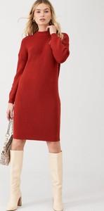 Sukienka V by Very z okrągłym dekoltem