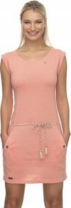 Różowa sukienka Donna Karan
