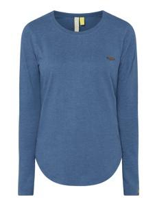 Niebieska bluzka Alife And Kickin z bawełny w stylu casual