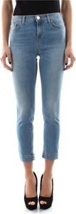 Niebieskie jeansy Pinko