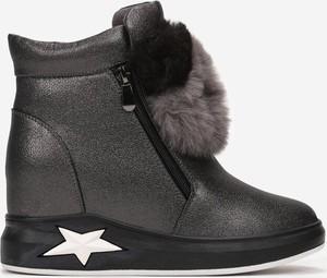 Czarne buty sportowe Multu