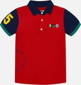 Czerwona koszulka dziecięca Mayoral