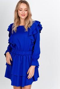 Sukienka ZOiO.pl mini z okrągłym dekoltem w stylu casual