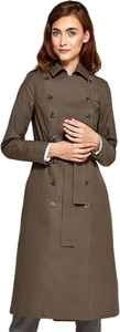 Brązowy płaszcz Nife