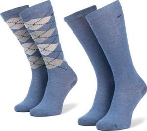 Niebieskie skarpetki Tom Tailor dla dziewczynek