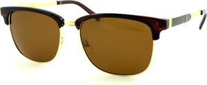 Brązowe okulary damskie Birreti Polarized