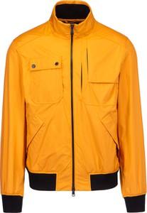 Pomarańczowa kurtka Paul And Shark z tkaniny krótka