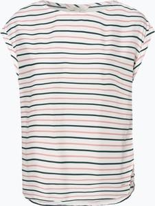 Bluzka Tom Tailor Denim w stylu casual z krótkim rękawem z okrągłym dekoltem
