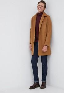 Brązowy płaszcz męski Gap