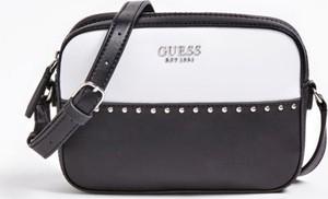 Czarna torebka Guess z bawełny