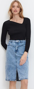 Spódnica Mohito z jeansu w stylu casual
