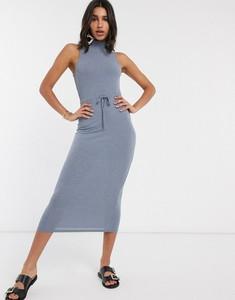 Sukienka Asos z golfem dopasowana
