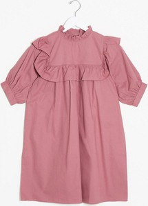Różowa sukienka Influence koszulowa