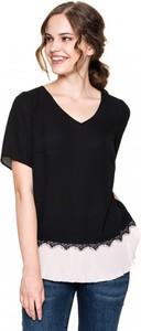 Czarna bluzka POTIS & VERSO