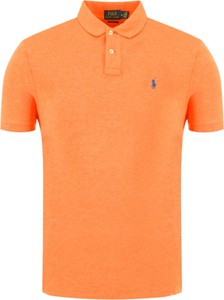 Koszulka polo POLO RALPH LAUREN z bawełny w stylu casual z krótkim rękawem