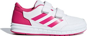 Buty sportowe dziecięce Adidas w paseczki na rzepy