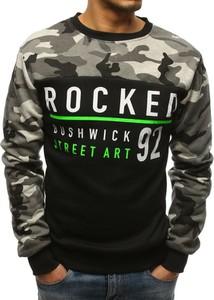 Bluza Dstreet w militarnym stylu