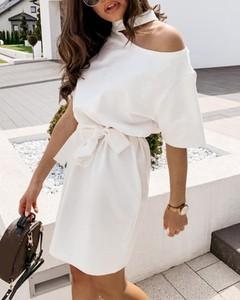 Sukienka Kendallme z długim rękawem hiszpanka w stylu casual