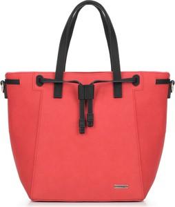 4c9fd9aeb1a62 torebki czarno czerwone - stylowo i modnie z Allani