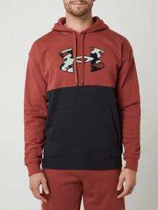 Bluza Under Armour w młodzieżowym stylu z bawełny z nadrukiem