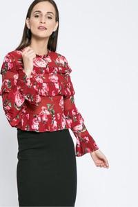 Bluzka Missguided z okrągłym dekoltem w stylu retro