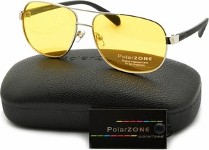 Stylion Rozjaśniające okulary do Jazdy Nocą dla kierowców Polaryzacyjne PolarZone POL-88Y-1