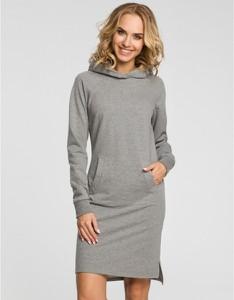 Sukienka MOE w stylu casual z długim rękawem