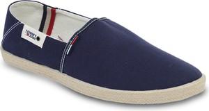 626a4c1a25617 Buty letnie męskie Tommy Jeans w stylu casual z tkaniny