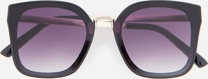 Granatowe okulary damskie Reserved