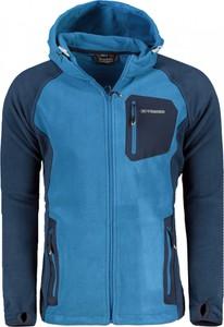 Niebieskie spodnie sportowe TRIMM