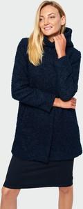 Granatowy płaszcz Greenpoint w stylu casual