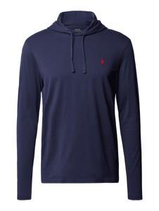 Granatowa bluza POLO RALPH LAUREN z bawełny w młodzieżowym stylu
