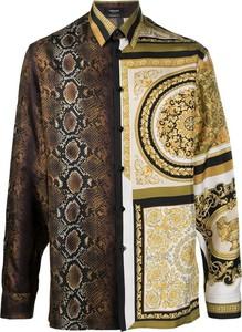 Koszula Versace z długim rękawem w młodzieżowym stylu