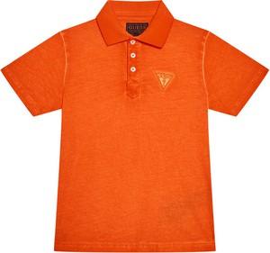 Koszulka dziecięca Guess z krótkim rękawem dla chłopców