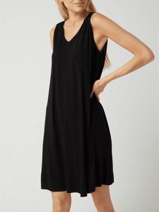 Czarna sukienka Opus mini z dekoltem w kształcie litery v