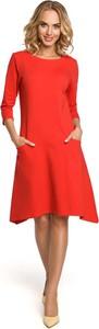 Pomarańczowa sukienka MOE