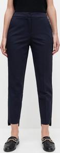 Granatowe spodnie Reserved