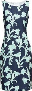 Sukienka bonprix BODYFLIRT boutique bez rękawów z okrągłym dekoltem