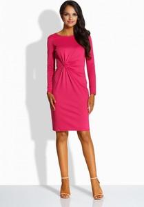6685355aff sukienka fuksja dodatki - stylowo i modnie z Allani