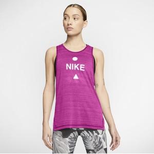 Fioletowy top Nike