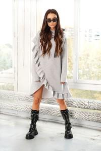 Sukienka Lemoniade z bawełny z długim rękawem