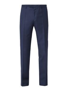 Niebieskie spodnie Boss z wełny